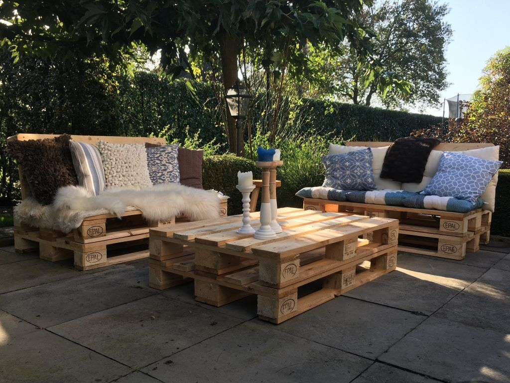 pallet loungeset