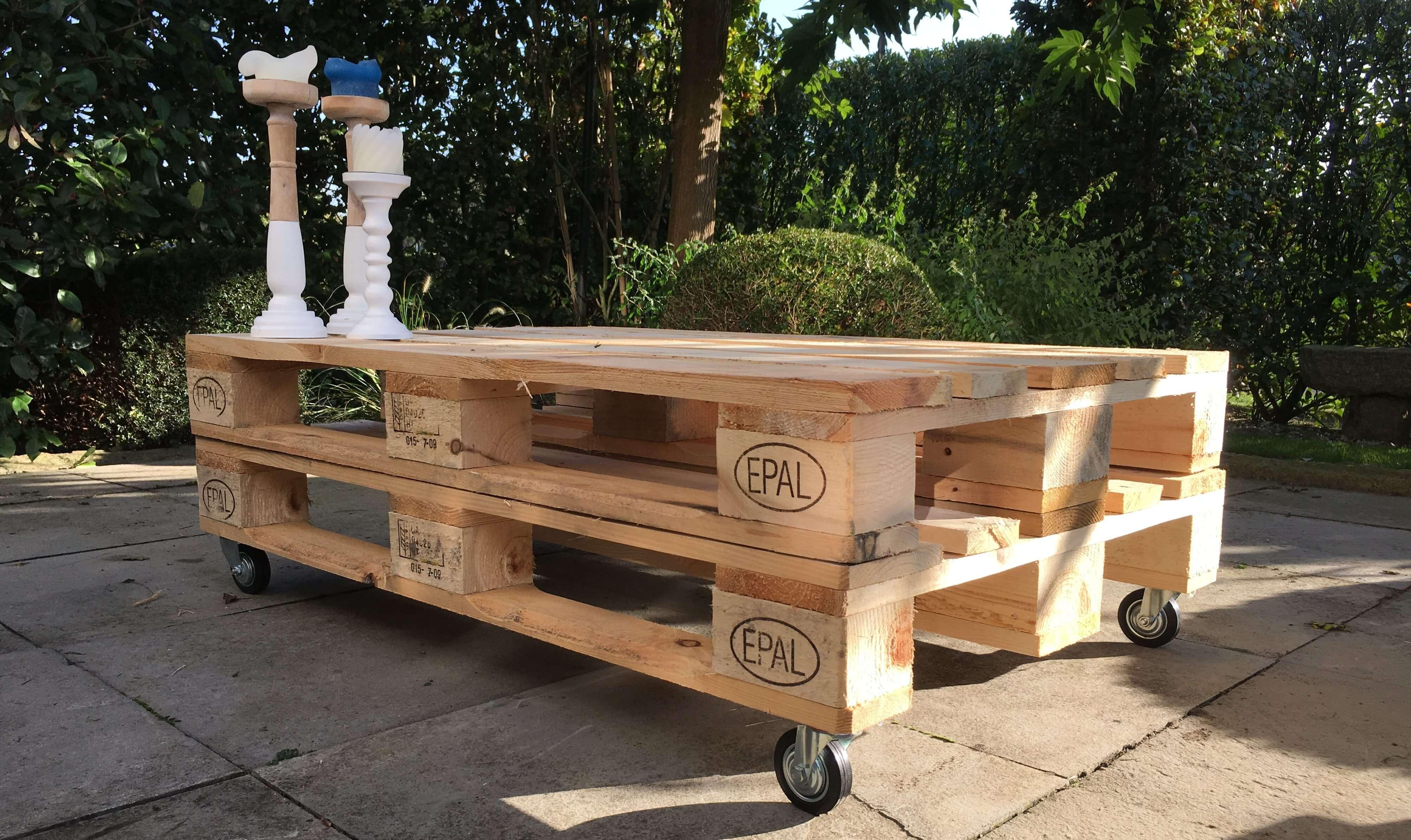 Zeer Stijlvolle pallet tafel kopen? | Kijk snel op Palletdeal.nl! ZF92